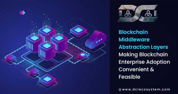 Blockchain Middleware Abstraction Layers – Making Blockchain Enterprise Adoption Convenient & ...