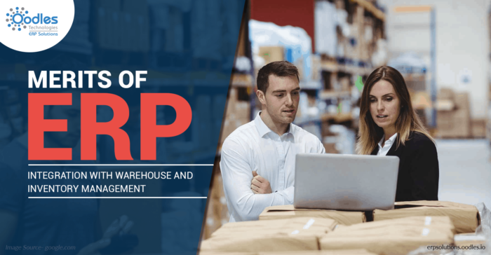Merits of ERP Integration With Inventory And Warehouse Management