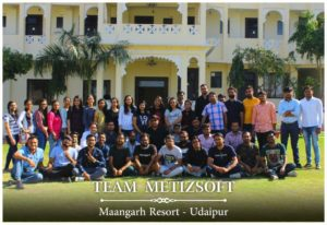 Metizsoft's Memorable and Fun Trip to Mangarh Resort, Udaipur.