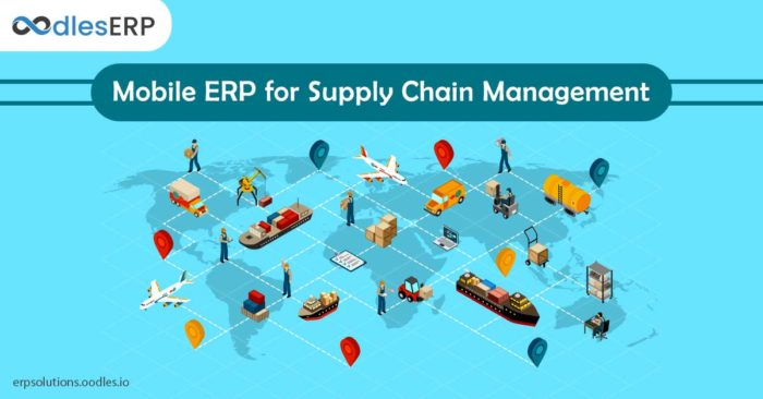 Mobile ERP for Supply Chain Management