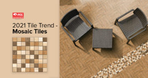Mosaic Tiles- Style Inspiration | Mosaic Tiles India | AGL Tiles
