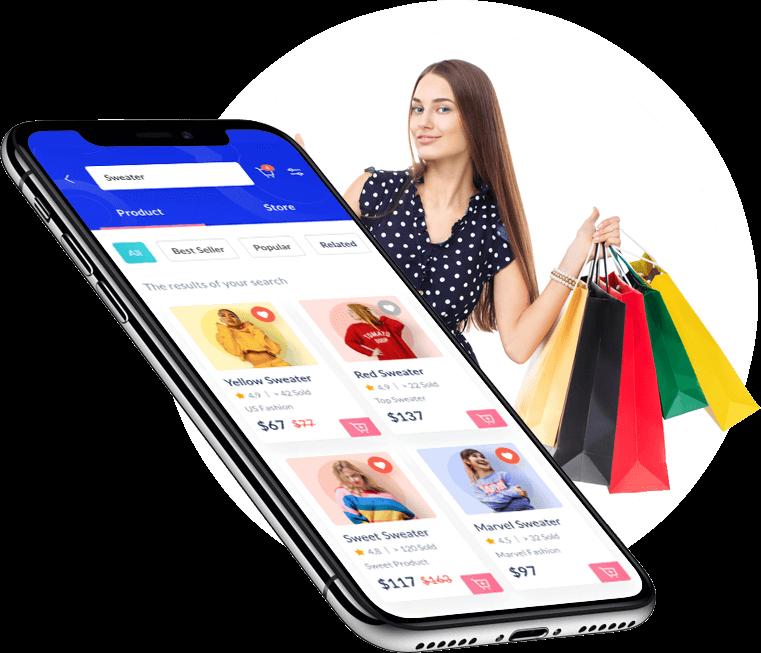 Multi-Vendor E-commerce Script, E-commerce App Solution, E-commerce Marketplace Software  Multi- ...