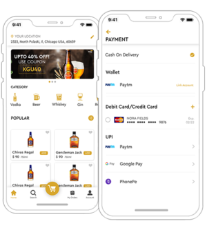 Drizly app clone | Alcohol Delivery App  Need your own Alcohol delivery white label app? Get our ...