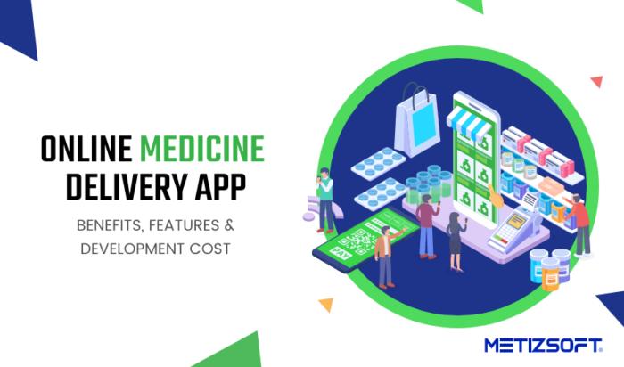 Online Medicine Delivery App: Benefits, Features & Development Cost