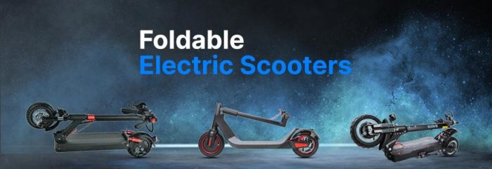 Reasons that Will Compel You to Buy a Foldable Electric Scooter  – Eveons Mobility Systems