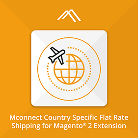 Shipping per Product per Country Extension for Magento 2 | Mconnect Flat Rate