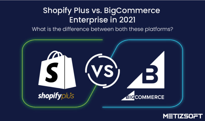 Shopify Plus vs. BigCommerce Enterprise in 2021- What is the Difference Between Both These Platf ...