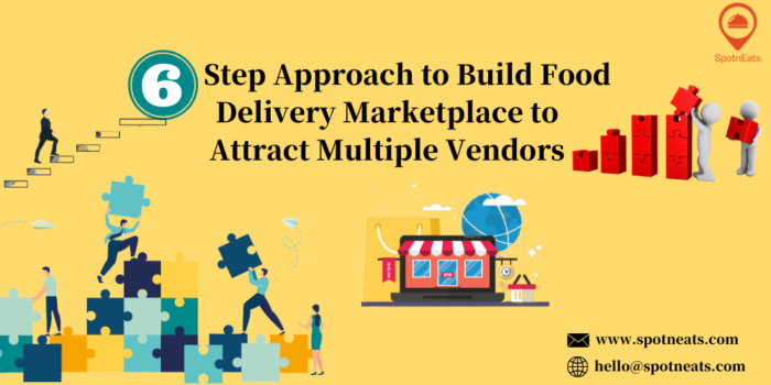 6-Step Approach to Build Food Delivery Marketplace to Attract Multiple Vendors