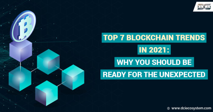 Top 7 Blockchain Trends in 2021: Why You Should Be Ready For The Unexpected