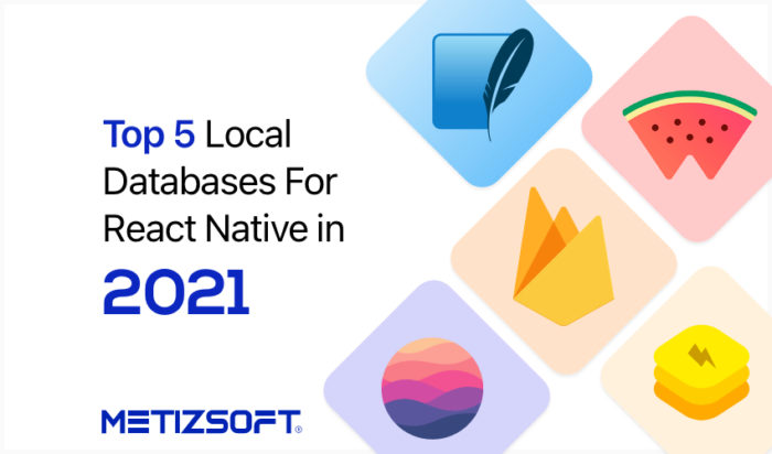 Top React Native Database for App Development in 2021 | Metizsoft