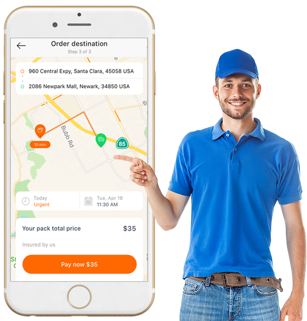 The successful business model of the Uber for Courier app development To offer the courier servi ...