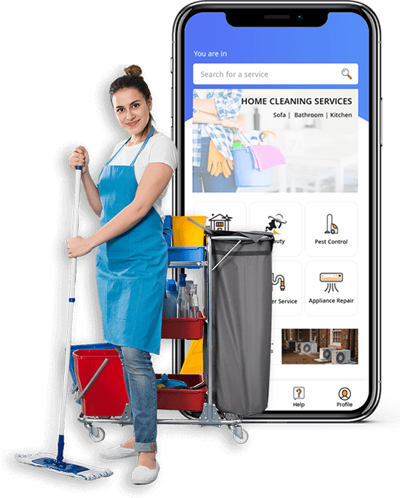 Uber for Maids – On-Demand House Cleaning App like Uber