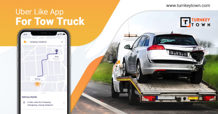 Unveil The Benefits Of Topping The On-demand Market With The Uber For Tow Truck App