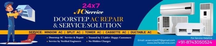 Skilled and certified technicians at your home. Call us and book an appointment with your AC ser ...