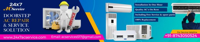 24×7 AC installation Charges also provide Service and Repair Provider we Provide affordable ...