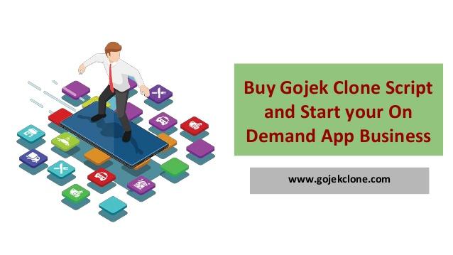 Buy Gojek Clone Script and Start your On Demand App Business