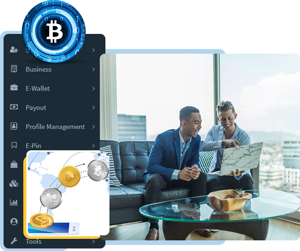 Cryptocurrency MLM Software – Blockchain Based MLM Software