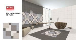 3D Tiles – Best 3D Tiles for Floor & Walls | AGL Tiles India