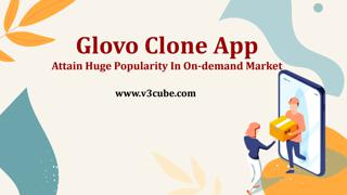 Glovo Clone App