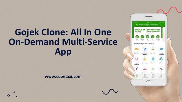 Gojek Clone All In One On-Demand Multi-Service App