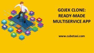 GOJEK CLONE READY-MADE MULTISERVICE APP