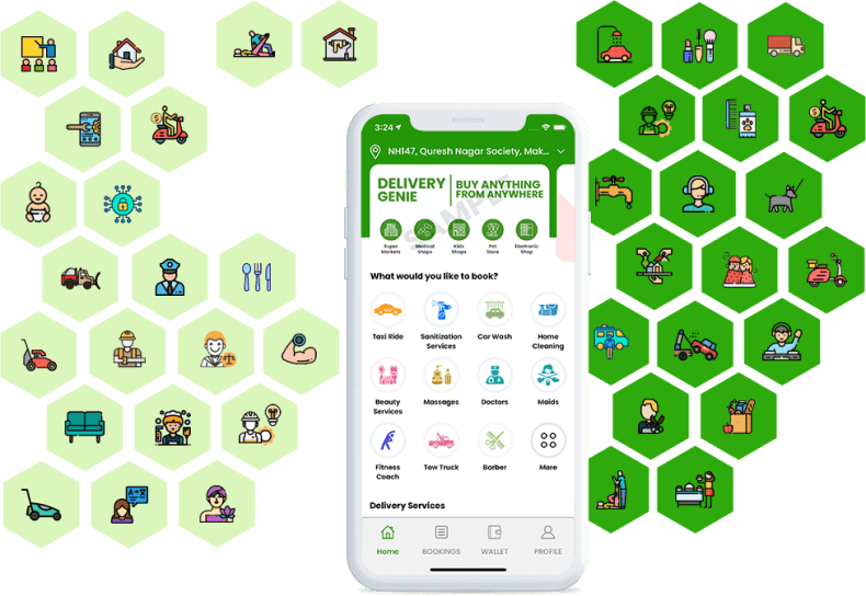 Gojek Clone Ready-made Multi-service App For Your On-demand Business