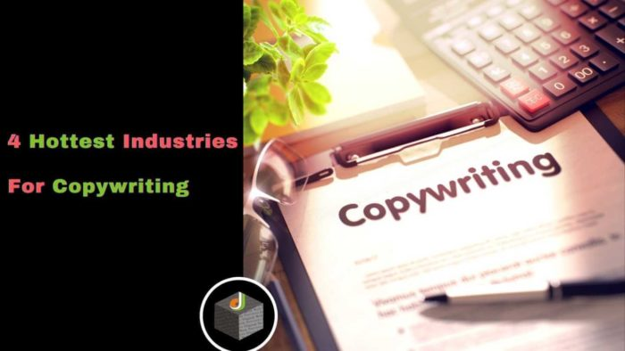 Here Are The Four Hottest Industries For #Copywriting 🔥  ☞The #Finance Industry ☞The Tech And #G ...