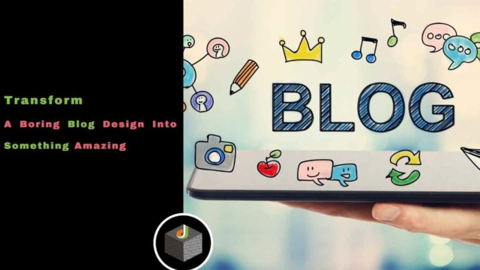 🚀 Know the best way to  transform a boring #Blog design into something amazing 🔥  Here you can a ...