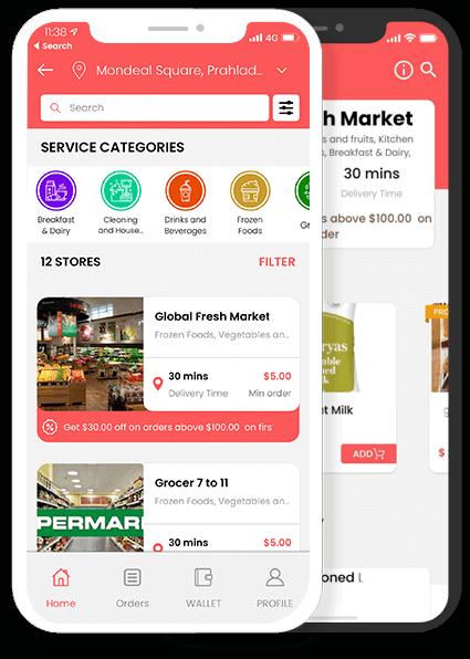Instacart Clone App – Ordering Fresh Groceries At The Doorstep Made It Easy