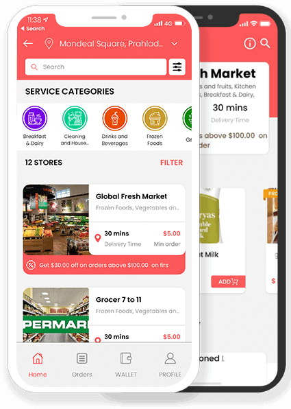 Instacart Clone App With New Features That Multiplies Your Revenue Instantly