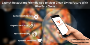 Launch Restaurant Friendly App to Meet Clean Living Future With UberEats Clone