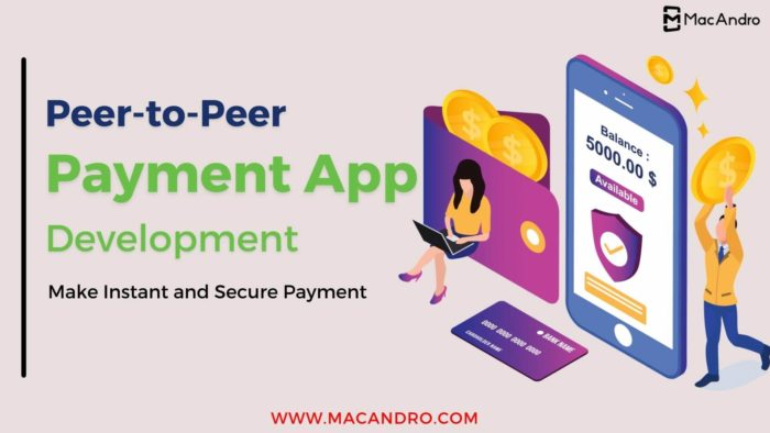 Get customized multi functional flexible payment app development solutions from MacAndro! Mobile ...