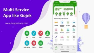 Multi-service app like gojek