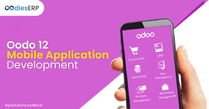 Odoo 12: Explore what it stores for Mobile ERP Application Development