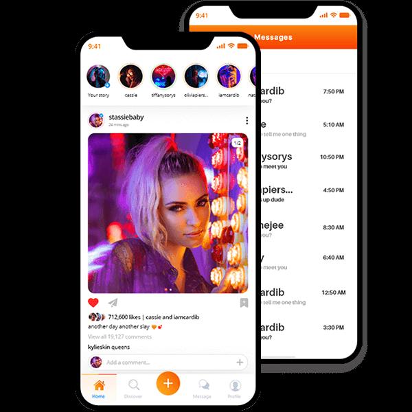 OnlyFans Clone, OnlyFans Clone Script, Celebrity Premium Subscription App Adult Fanclub app is a ...