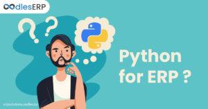 Python for an ERP software development