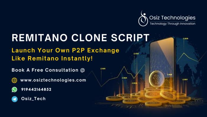 Remitano Clone Script   Remitano Clone Software   Remitano Clone App  Osiz, being a renowned cry ...