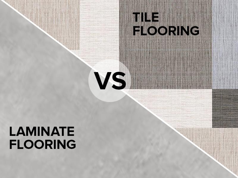 Tile Flooring VS Laminate Flooring, Which is Better?