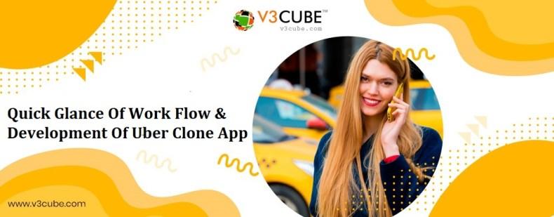 Uber Clone – Development & Workflow to Make Enterprise Taxi App
