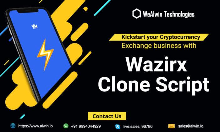 Wazirx Clone Script   Wazirx Clone App   Wazirx Exchange Clone Script