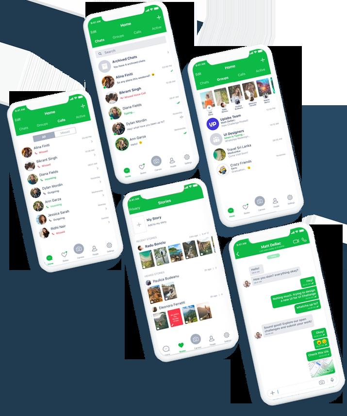 Whatsapp Clone   White-Label Whatsapp Clone Development – Magnify Your Business Reach By L ...
