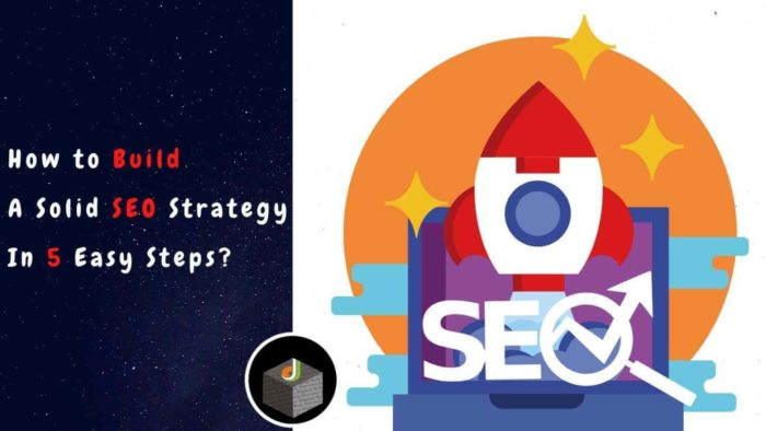 🚀 See the 5 easy steps to build a solid 🔎📈 #SEO Strategy? 🔥  ☞ Step 1- List your KPIs and Identi ...