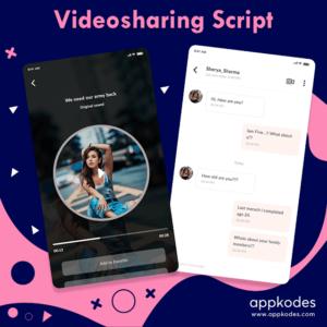 Build video sharing app using video sharing script