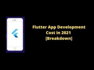 Flutter App Development Cost in 2021 – YouTube
