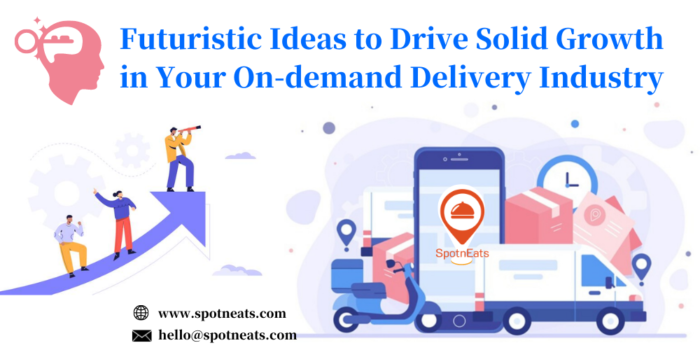 Futuristic Ideas to Drive Solid Growth in Your On-demand Delivery Industry