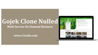 Gojek Clone Nulled: Multi Service On Demand Business