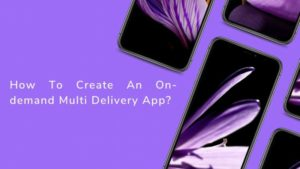 How To Create An On-demand Multi Delivery App?