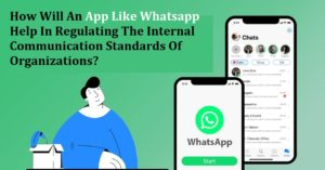 An instant messaging app like Whatsapp will be a powerful tool to streamline communication withi ...