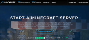 Shockbyte for Minecraft Server: Is It Really Worth in 2021?