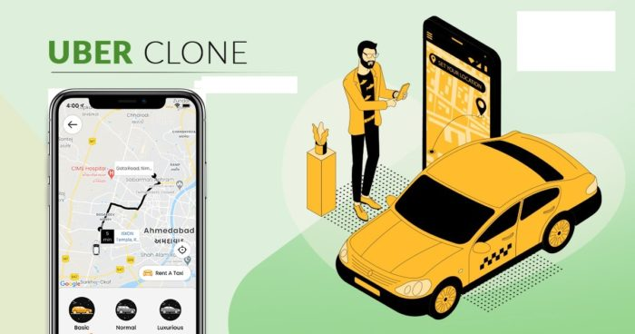 Uber Clone Makes It Easy To Kick Start Taxi Booking Business